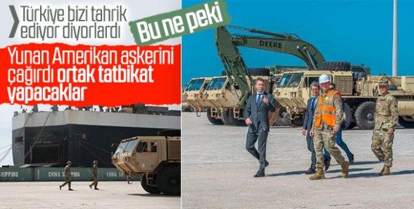 ABD: Yunanistan'a yığınak yapmıyoruz