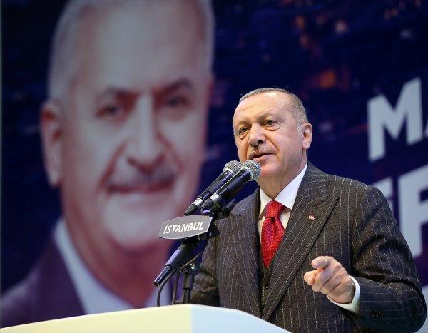 Erdoğan, AK Parti Mahalle Başkanlarıyla buluştu