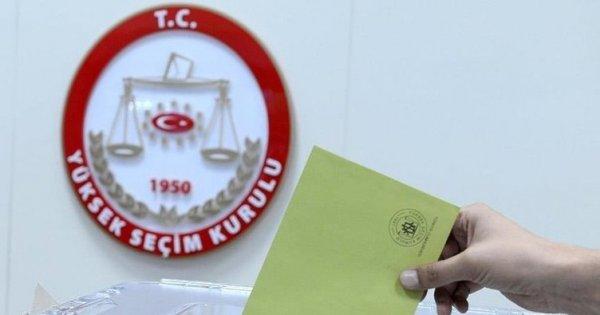 İstanbul seçiminin kesin aday listesi açıklandı