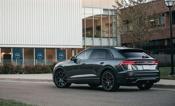 Audi Q8'in tasarımı yenilendi