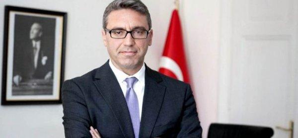 Büyükelçi Özügergin: Türkiye ve Yunanistan ileri bakmalı