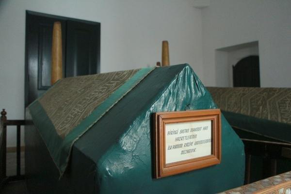 Dolmabahçe Sarayı'ndaki türbe tanıtıldı