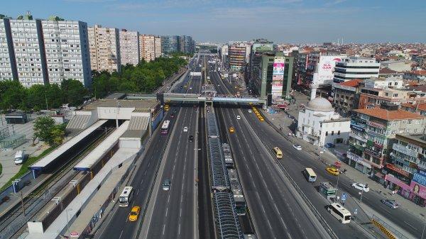 İstanbul yolları bomboş kaldı