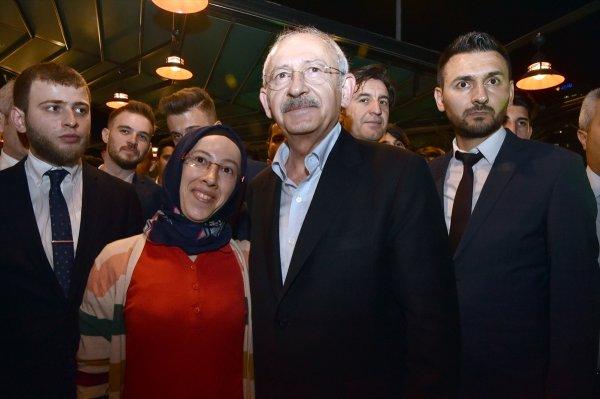 Kılıçdaroğlu, imam hatiplilerin iftarına katıldı