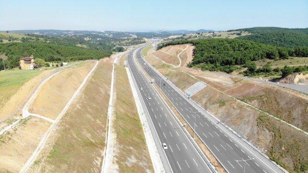 Kuzey Marmara otoyolu trafiğe açıldı