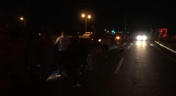 Kars'ta ambulans ile ticari araç çarpıştı