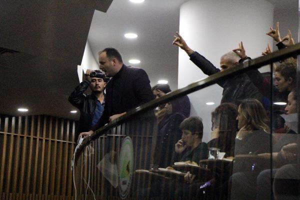 Bolu'da, ülkücülerden CHP'li meclis üyesine protesto