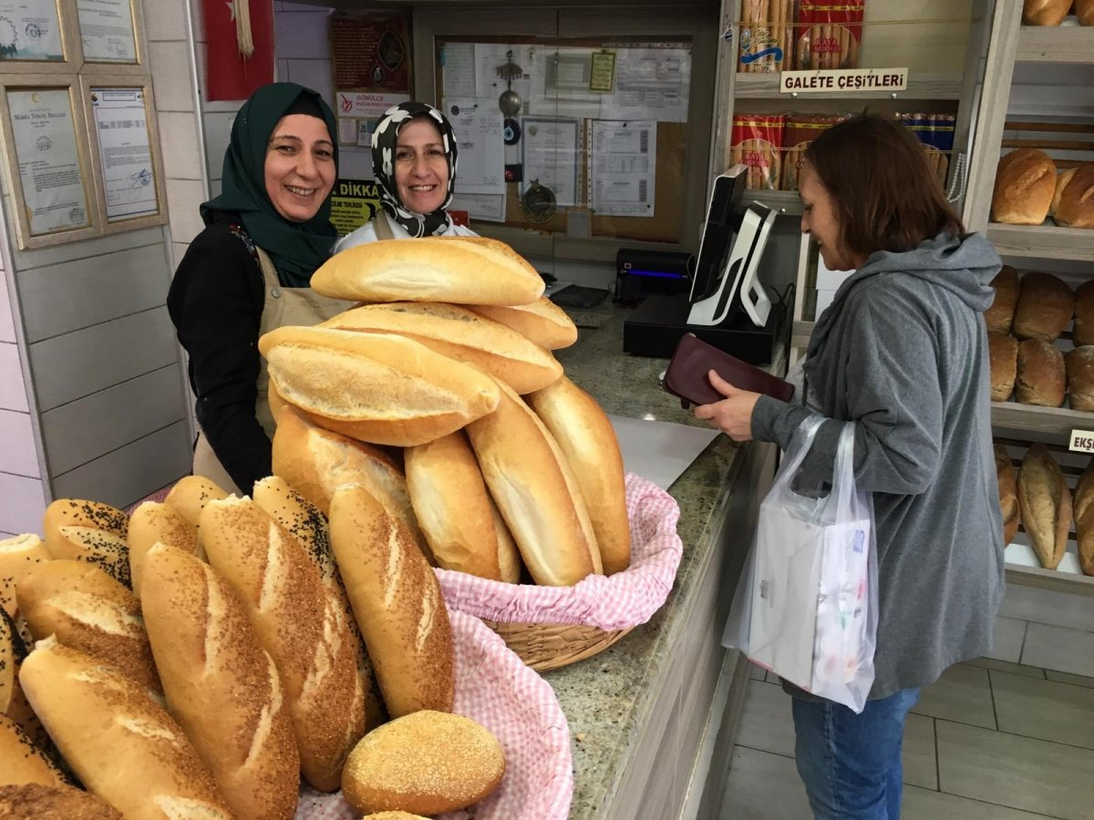 Çorlu'da ekmek fiyatına zam geldi