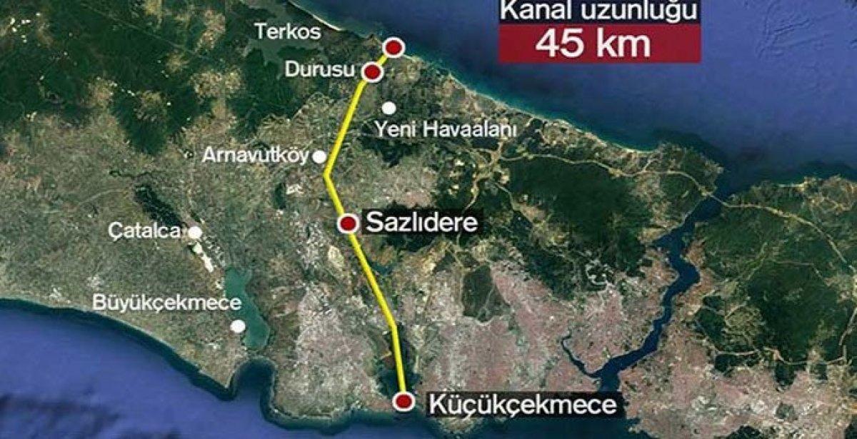 Kanal İstanbul projesinde son durum