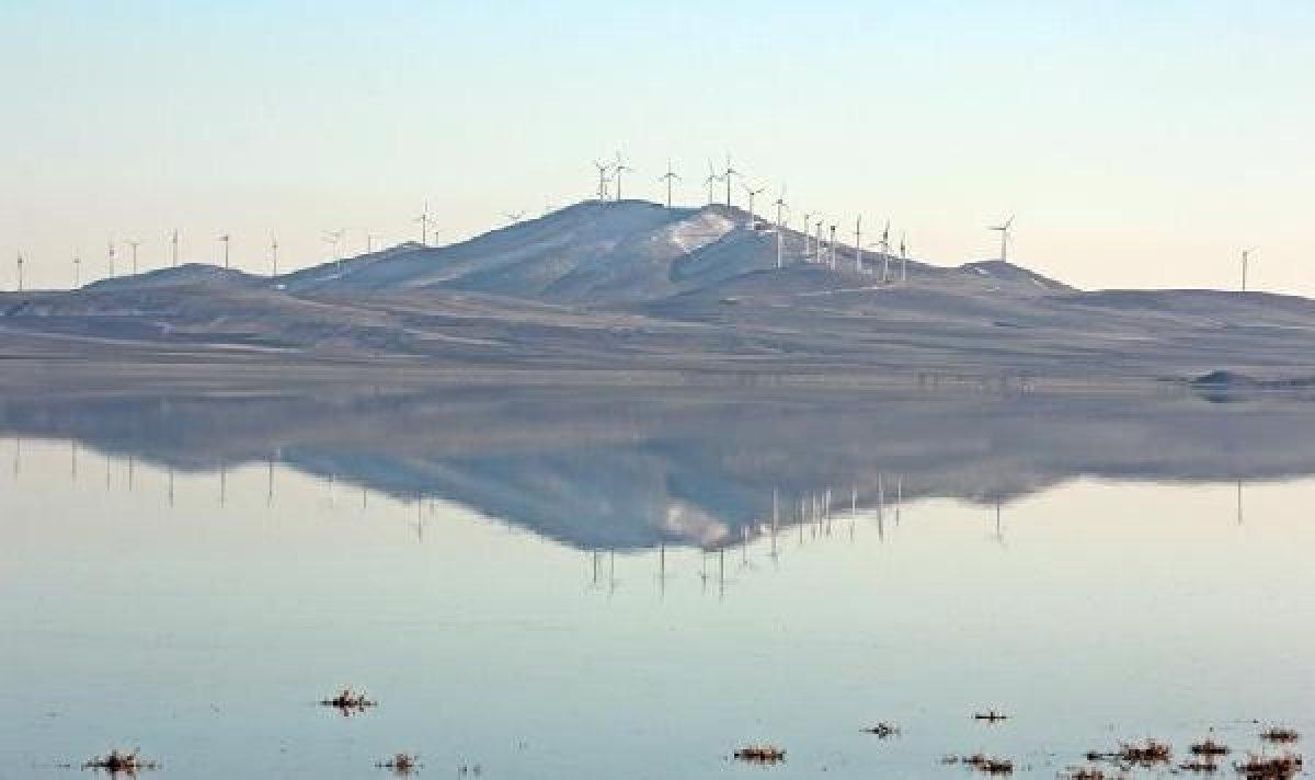 Seyfe Gölü kuraklıkla mücadele ediyor