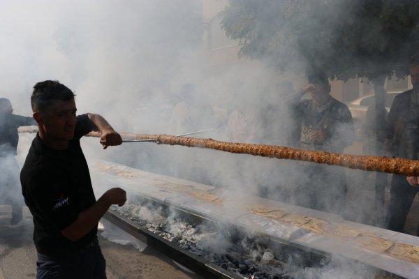 Kahramanmaraş'ta lokanta açılışında rekor kırıldı