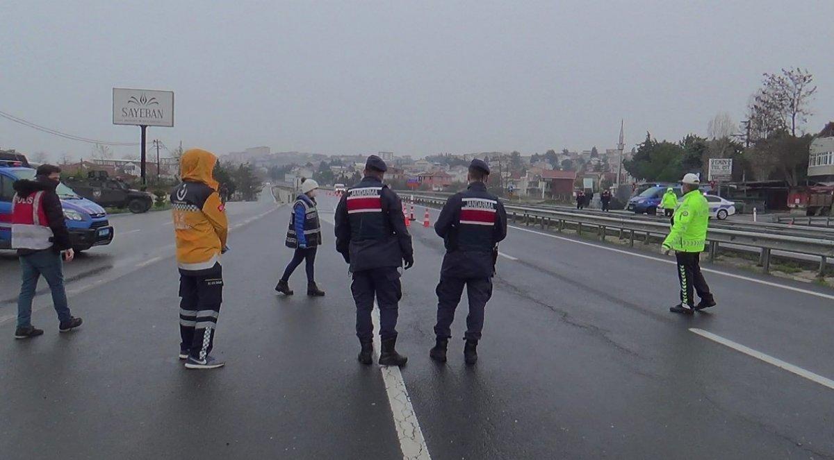İstanbul'a giriş yapmak isteyenler geri gönderildi
