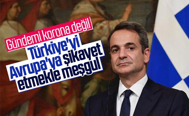 Miçotakis Türkiye'yi şikayet etti