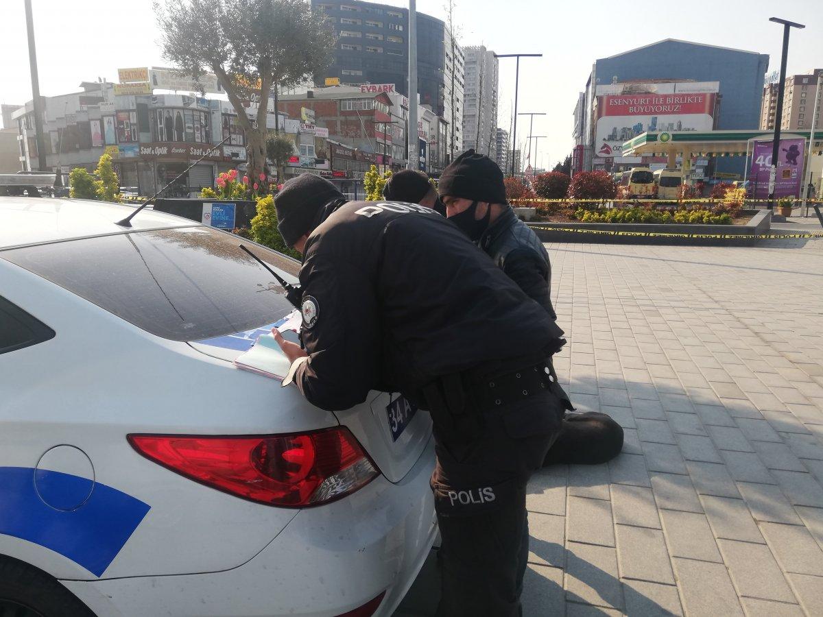 Sokağa çıkma yasağına uymayanlara ilk cezalar yazıldı
