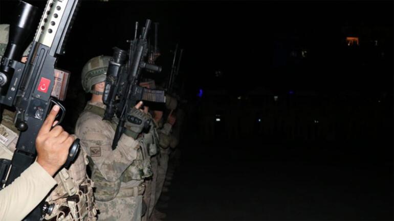 Son dakika haberler... Diyarbakırda Yıldırım-7 Lice Narko Terör operasyonu başlatıldı