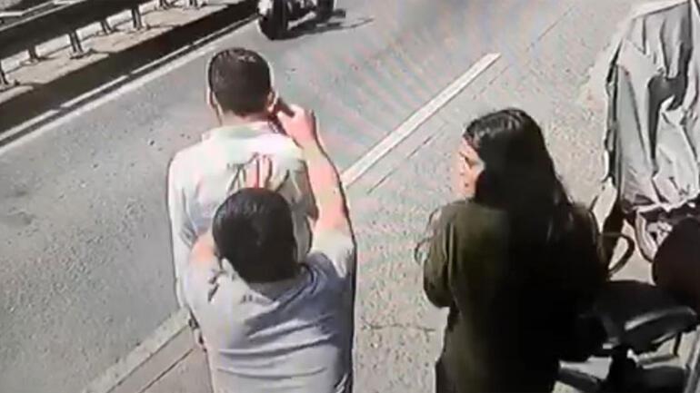 Son dakika haberleri: Taksimdeki kapkaç kamerada Sessizce geldi ve...