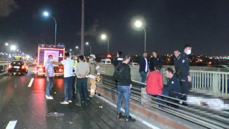 Haliç Köprüsünde kahreden kaza: Araçtan yola fırlayan çocuğun feci ölümü