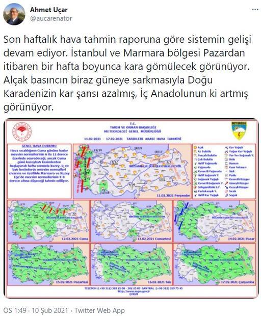 Uzmanlar gün verdi İstanbul kara gömülecek